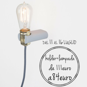 lampada a parete silicone